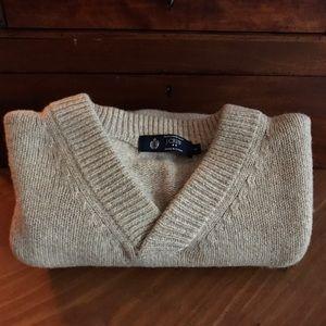 J Crew 100% LambsWool Sweater